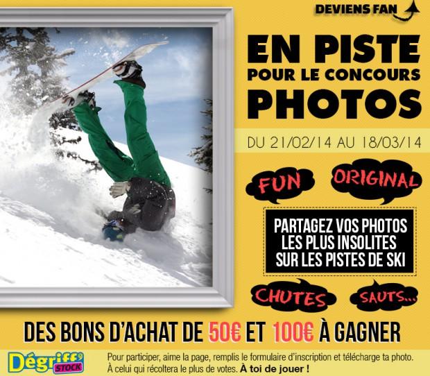 En piste pour le concours photos !