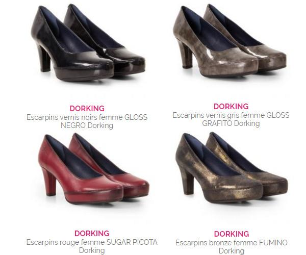 chaussures talons tendance et confortable