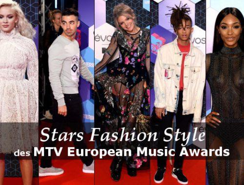 style des stars MTV European Music Awards 2016